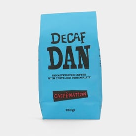 Decafiné Koffie Decaf Dan van caffenation