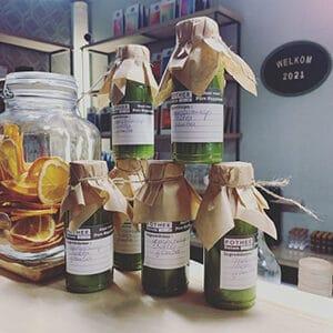 Detox sapjes met appelsiensap en selder