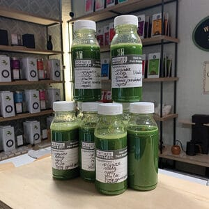 Detox sapjes van spinazie 240 ml