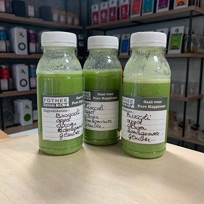 Detox sapjes van Broccoli